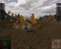 World of Tanks Game Screen