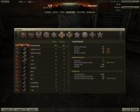 World of Tanks Statistics Screen
