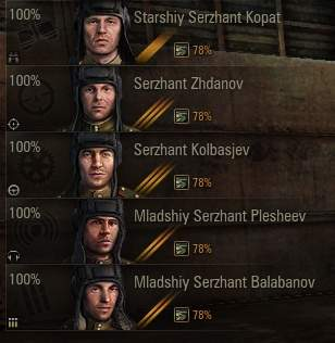 100% crew efficiency