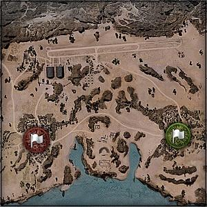 Airfield - Map World of Tanks