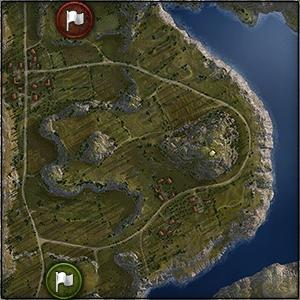 Cliff - Map World of Tanks