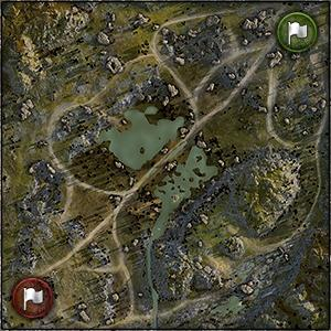 Karelia - Map World of Tanks