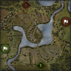 Komarin - Map World of Tanks