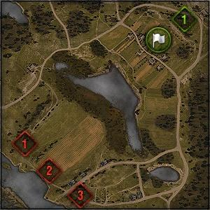 Malinovka - Map World of Tanks