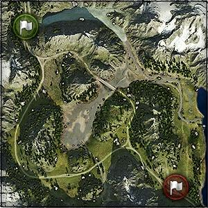 Mountain Pass - Map World of Tanks