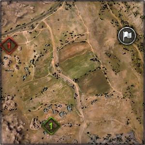Steppes - Map World of Tanks