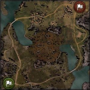 Swamp - Map World of Tanks